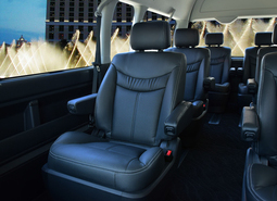 HIACE GRAND CABIN COMPLETE「LIMOUSINE EXP-L COMFORT」WAGON 3ナンバー 9人乗り