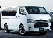HIACE S-GL COMPLETE「TRAIL GEAR 4WD」4ナンバー 5人乗りのサムネイル