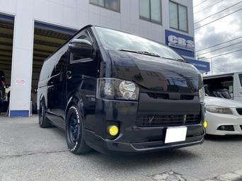 【ハイエース カスタム】CRS横浜店 カスタマイズ中古車納車!!