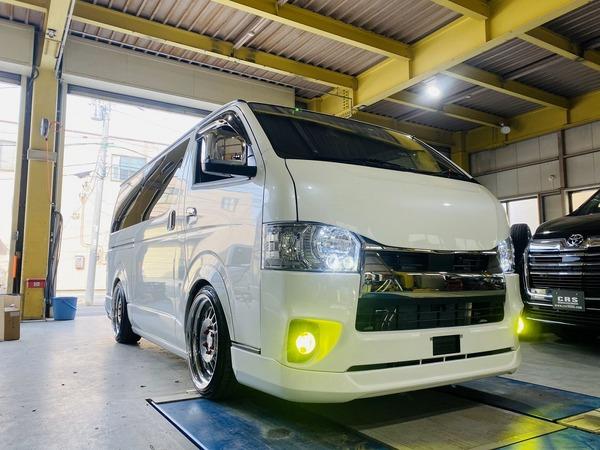 【ハイエース カスタム】CRS横浜店 カスタム多数CRSパッケージ改 納車!