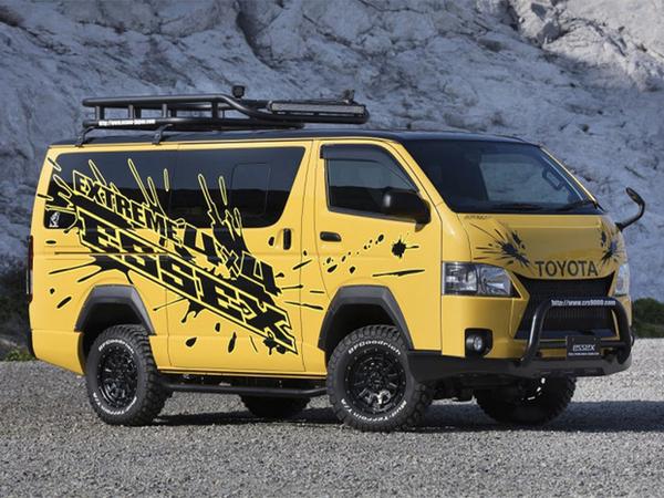【ハイエース カスタム】4WD・車高UP車にオススメのEXTREMEエアロパーツ紹介!