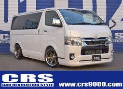 ハイエース S-GLDPⅡ 2WD2000cc ガソリン車 STYLE-PKG ホワイトパール