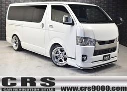 新車 ハイエースDPⅡ 2WD 2000cc ホワイトパール CRSコンプリート2