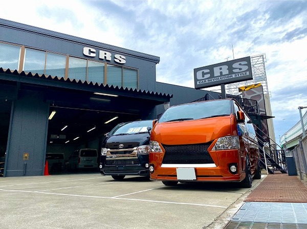 【ハイエース カスタム】CRS大阪店のPIT作業のご紹介!人気のESSEXパーツ沢山取付けしました!