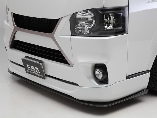 ハイエースのフロントバンパーを変えるならこれがオススメ!3万円台でイメチェンできますよ~~
