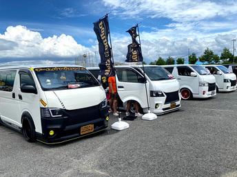 ワンボックスカーの祭典!SBM大阪2021に出展していたエントリーカーをどど~んと紹介します!