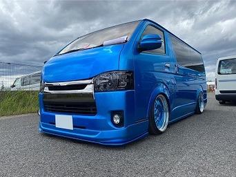 SBM大阪2021に出展していたデモカー&エントリーハイエースをお見せします!かっこいい車ばっかでした!