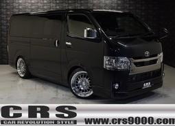 新車 ハイエースDPⅡ 2WD 2800cc ブラックマイカ CRSコンプリート8