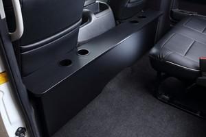 クラフトプラス  ハイエース ナローS-GL用 デッキカウンター プレミアムブラック