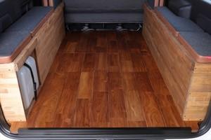 クラフトプラス  ハイエース ナローS-GL用 カーゴパネル デニム装着車仕様 リアルウッド