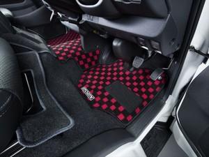 ハイエース200系バン S-GL・DX用フロアマット  フロントセカンドセット【代引不可】