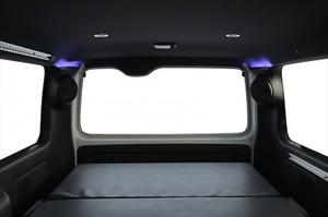 ナローS-GL用 Dピラースピーカーフルセット ブラック (LED付)
