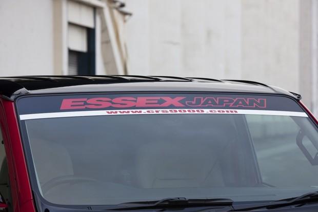 ESSEX ナロー用フロントハチマキ 赤デモカー仕様【代引不可】