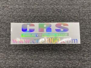 CRS ロゴ&アドレス ホログラムステッカー大(T)W435【代引き不可】