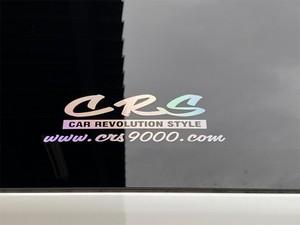 CRS ロゴ&アドレス ホログラムステッカー小(H)