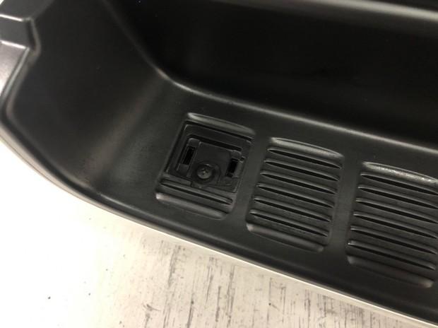 ES リアバンパー用 アルミステップカバー