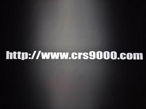 CRSアドレスステッカー(大)