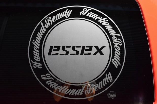 ESSEX サークルステッカー(大) 470φ 1枚【代引不可】