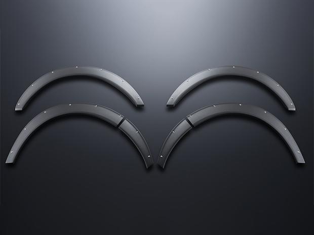 オーバーフェンダー(25mm) ABS製