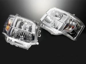 【3型フェイスチェンジタイプ】DEPO製クリスタルヘッドライト