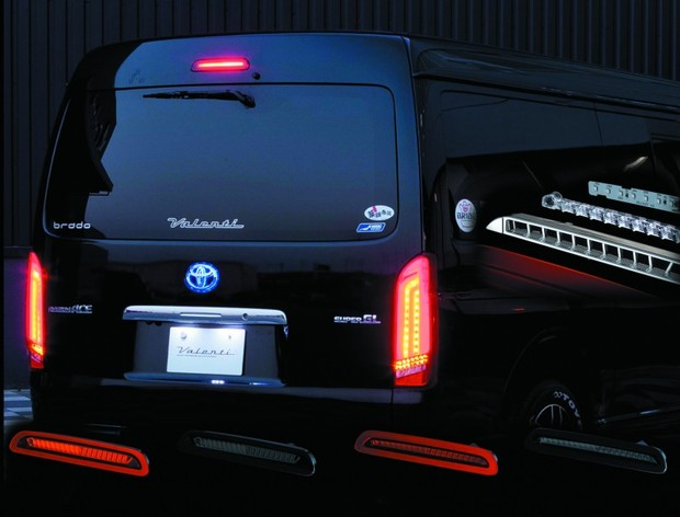 Valenti JEWEL LED HIGH MOUNT STOP LAMP ハイエース/レジアスエース(200系) Type2