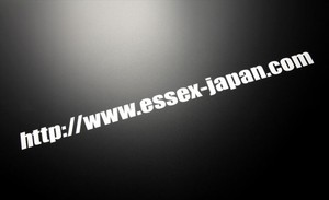 ESSEX アドレスステッカー(大)
