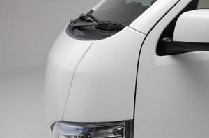 キャラバン用 コーナーパネル 左右セット ABS製 未塗装【代引不可】