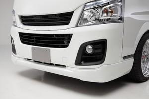 キャラバン用 フロントリップスポイラー ABS製 未塗装