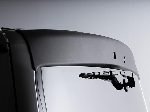 デジタルインナーミラー付ナロー用 リアウィングVer.I ABS製