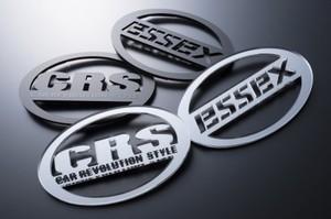 ESSEX・CRS リア用アクリルエンブレム